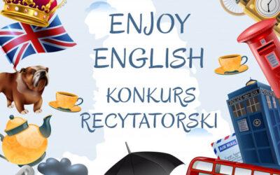 """III Międzyprzedszkolny Konkurs Recytatorski w Języku Angielskim """"Enjoy English"""""""